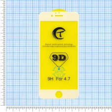 9D захисне скло для iPhone 6 white