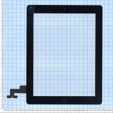 Тачскрін для iPad 2 чорний