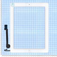 Тачскрін для iPad 4 білий